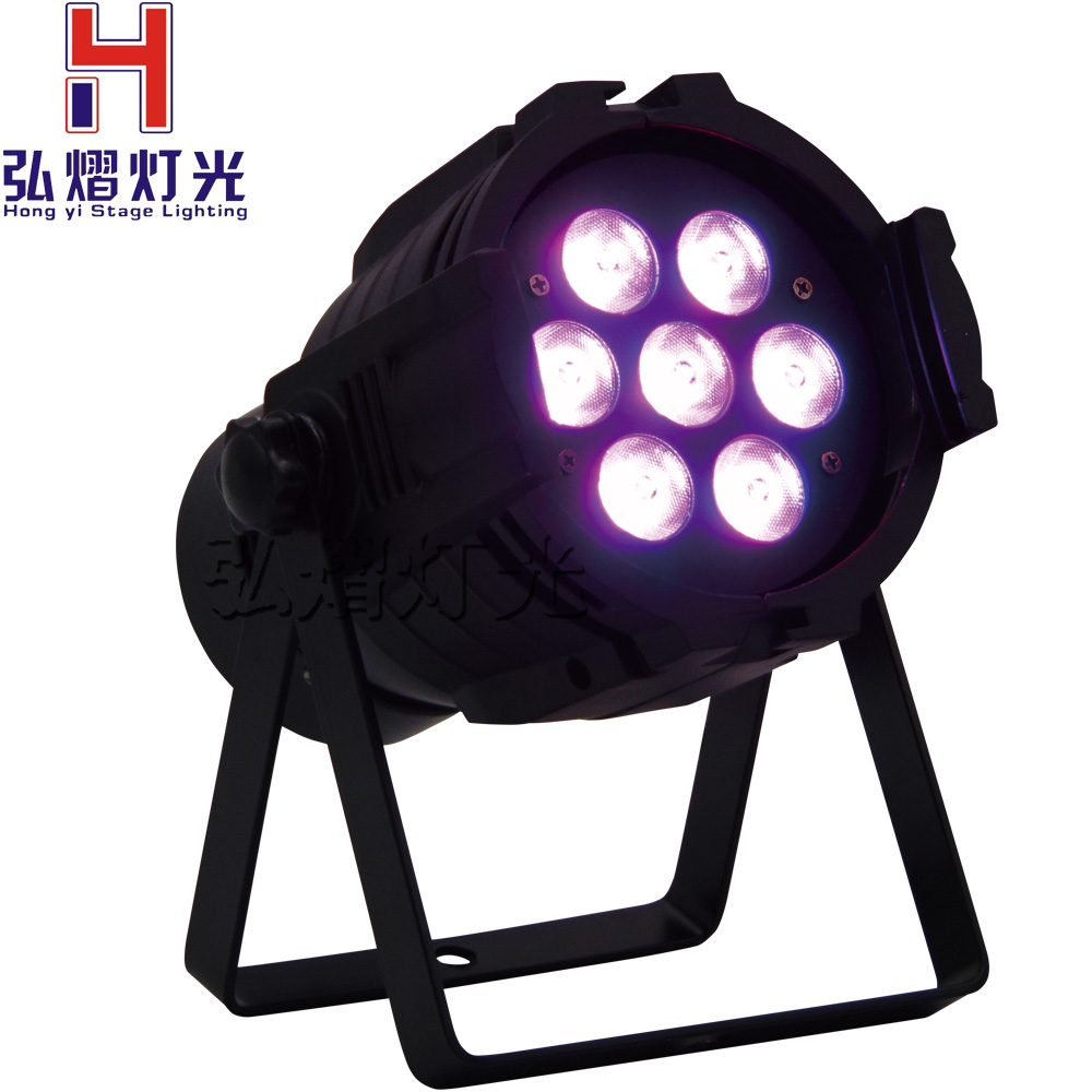 New Professional LED Stage Lights 12 RGB PAR DMX LED Stage Lighting Effect DMX512 Master-Slave dj Light for Disco Party KTV new professional led stage light 6w rgb ac90 240v stage lighting effect par light for dj disco party ktv free shipping