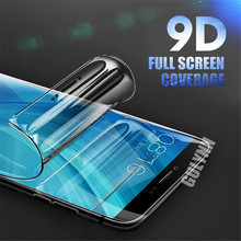 GULYNN 9D Curved Full Cover Hydrogel Film For Xiaomi Mi 8 SE 6X A1 A2 Screen Protector Redmi 6 6A Pro Note 3 (Not Glass)