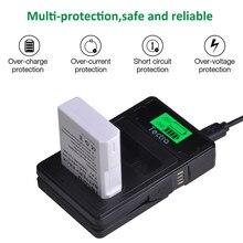 1500 Mah 1 Pc EN-EL14A EN-EL14 ENEL14 Batterij + Lcd Type C Lader Voor Nikon D5600 D5100 P7000 D3100 D3200 d3300 D3400 D3500 Batterij