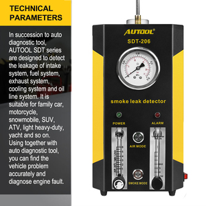 Image 4 - AUTOOL 2019 NEW SDT 206 Car Smoke Machines Leak Locator Automotive Diagnostic Leak Detector Auto Diagnostic Tool PK SDT206