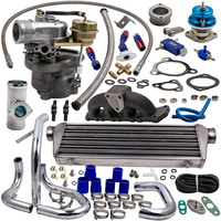 K04 015 Turbo Kit + Intercooler for Audi A4 1.8T VW l4 GAS DOHC 1997 2004