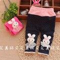 A la Venta 2016 del Resorte Nuevos Pantalones Del Bebé con flora Agradable Algodón de los bebés leggings B111