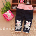 On Sale 2016 Spring New Baby Pants with flora Nice Cotton baby girls leggings  B111