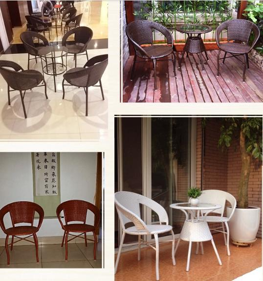 freeshipping PE rattan tea table set Outdoor tables chairs(2chairs+1table) leisure furniture wrought iron balcony chairs on Aliexpress.com | Alibaba Group & freeshipping PE rattan tea table set Outdoor tables chairs(2chairs+ ...