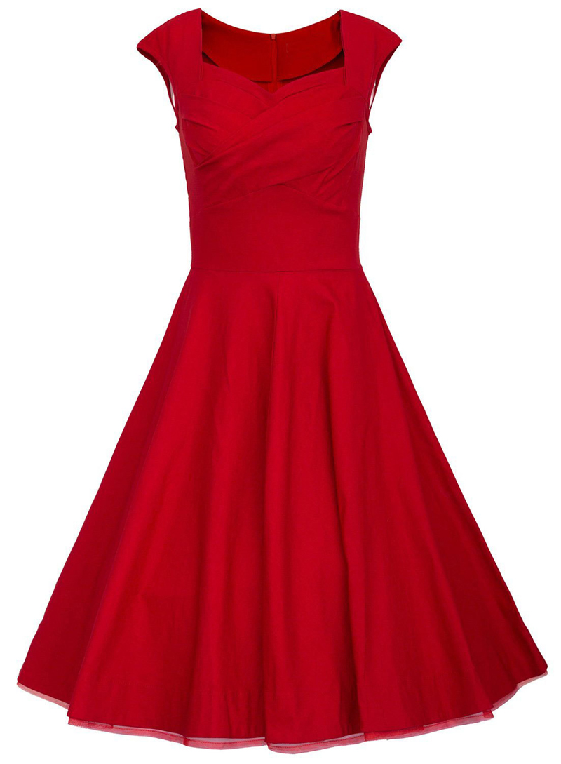 2016 fashion women wedding guest dresses royal red slim uk for Vintage wedding guest dresses