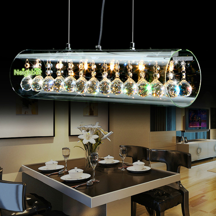 Aliexpress.com : Buy New Modern Crystal LED Pendant Light ...