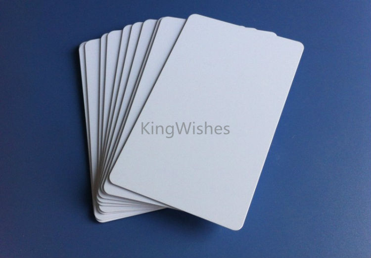 Factory price 50pcs plastic both side printable blank pvc id card no product image pvc card pic 1 reheart Image collections