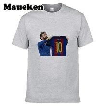 5cad20940a9 Men T-shirt new design Men's Lionel Messi 500 Goals tee T Shirt Men 100