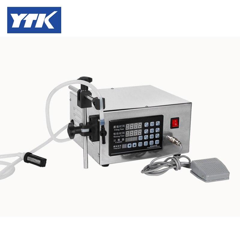 Contrôle numérique de Machine de remplissage de liquide de boisson molle de l'eau de 3-3000 ml de YTK