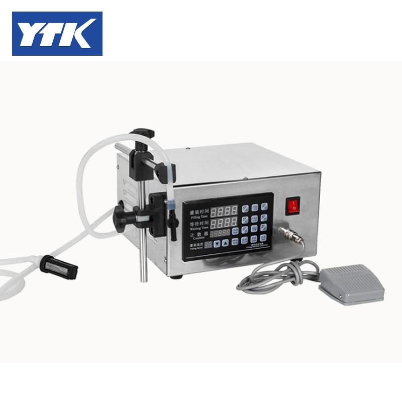 YTK 3-3000ml Water Softdrink Liquid Filling Machine Digital Control