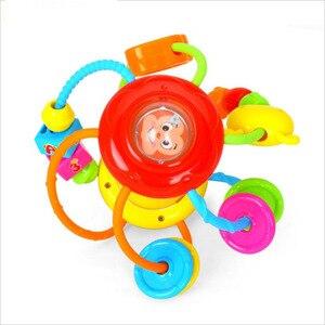 Image 2 - Baby Speelgoed Activiteit Bal Baby Speelgoed 0 12 Maanden Baby Rammelaar Bal Knagen Greep Educatief Speelgoed Voor Baby 0 12 Maand Klim Leren