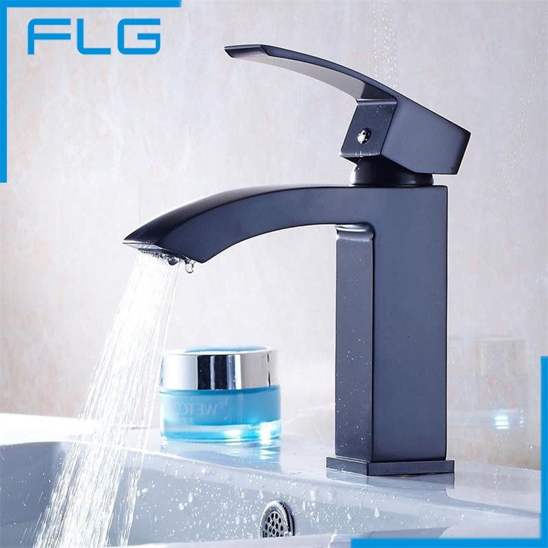 Waterfall Contemporary Bathroom Sink Basin Sanitary Deck Mounted Faucet Mixer Tap Brass Single Lever Hole Torneira free shipping 2015 yr new tea premium jasmine pearl tea jasmine longzhu flower tea green tea 250g bag vacuum packaging