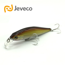 Jeveco JVC012 fishing lures, 80mm/10.2g 0-0.8m Floating Minnow artificial bait New high quality fishing in ocean lake