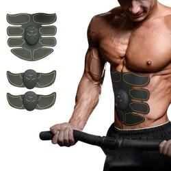 Estimulador muscular para adelgazar el cuerpo máquina formadora de músculos abdominales entrenamiento de entrenamiento para quemar la grasa cuerpo Building Fitness masajeador