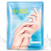 1 Pair Hanchan Milk Hand Mask Soft Moisturizing Whitening Anti Wrinkle Remove Ha