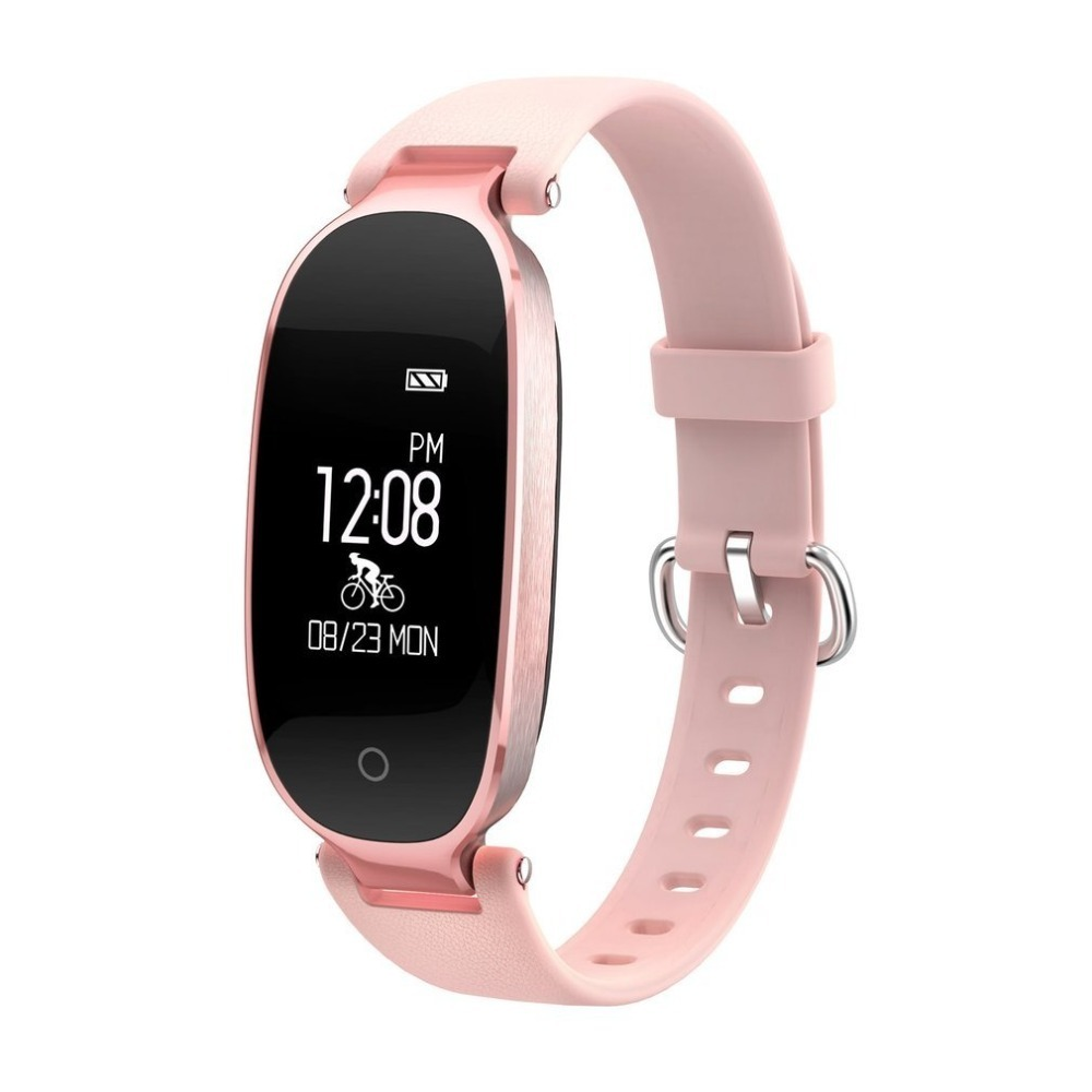 S3 Elegant Design Waterproof Bluetooth Smart Watch Heart Rate Monitor Fitness Tracker Wr ...