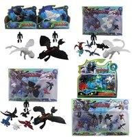 Как приручить дракона 3 беззубистые рисунки из мультфильма ПВХ Фигурки игрушки Детская Коллекция украшения Дети Рождественский подарок