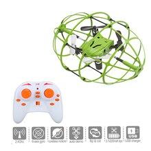 T Mini Helic 2.4 GHz 4CH Drone con Luz Led Bola de la Mosca rc drone quadcopter 3d flip rodillo bola rc toys para niños
