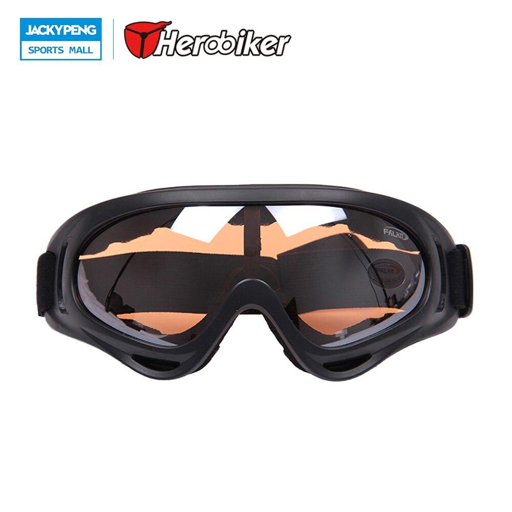 Herobiker X400 ветрозащитный лыжный Очки мотоциклетные Защита для глаз Airsoft Пейнтбол очки, 100% UVA/UVB, ANSI Z87.1 strandard