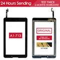 7.0 Дюймов Оригинальный ИСПЫТАНО НОВЫЙ Сенсорный Экран Для Acer iconia Tab7 A1-713 Сенсорный Экран Digitizer Замена Черный Клей