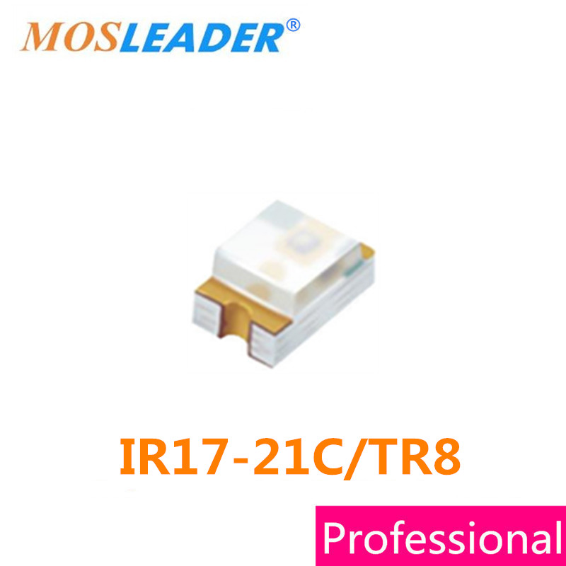 Mosleader IR17-21C/TR8 0805 500pcs 3000pcs 2012 IR17-21C Water clear High quality драм машина roland aira tr 8