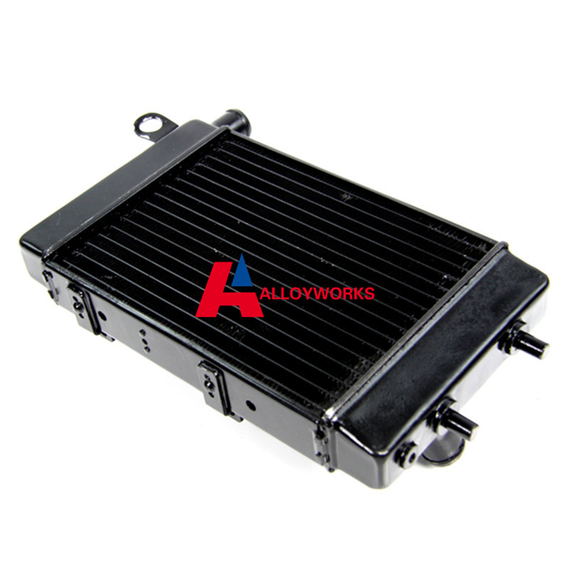 HOT SALE Aluminum radiator for 02-05 Aprilia RSV Tuono 1000 R/H 2002 2003 2004 2005 High Quality Cooling Motorcycle Parts