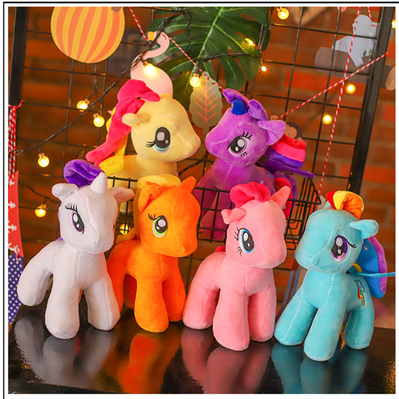 Wedding Souvenirs Unicorn Party Favors Plush Unicorn Horse Stuffed Animals Toys Baby Shower Christmas birthday Children Gifts