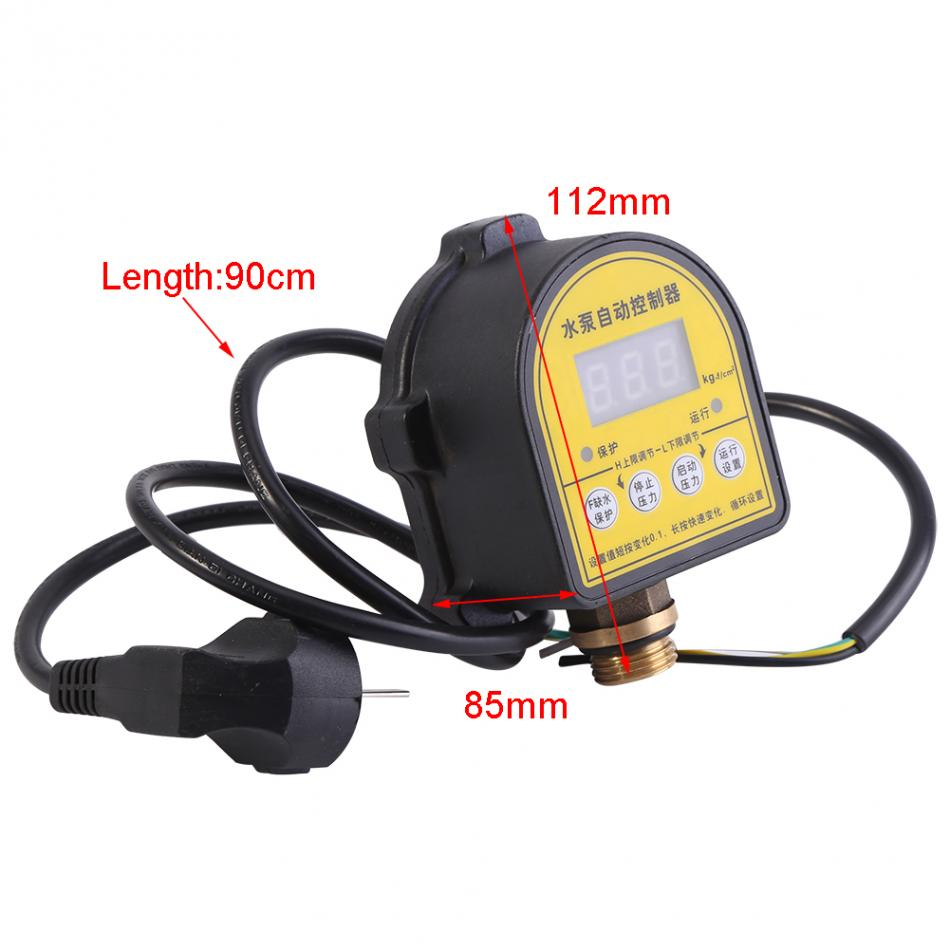 Automatic Digital Water Pump Pressure Controller Intelligent ON OFF Switch 220V AC 10A Household Eletronic Pressure Controller. homeleader 7 in 1 multi use pressure cooker stainless instant pressure led pot digital electric multicooker slow rice soup fogao