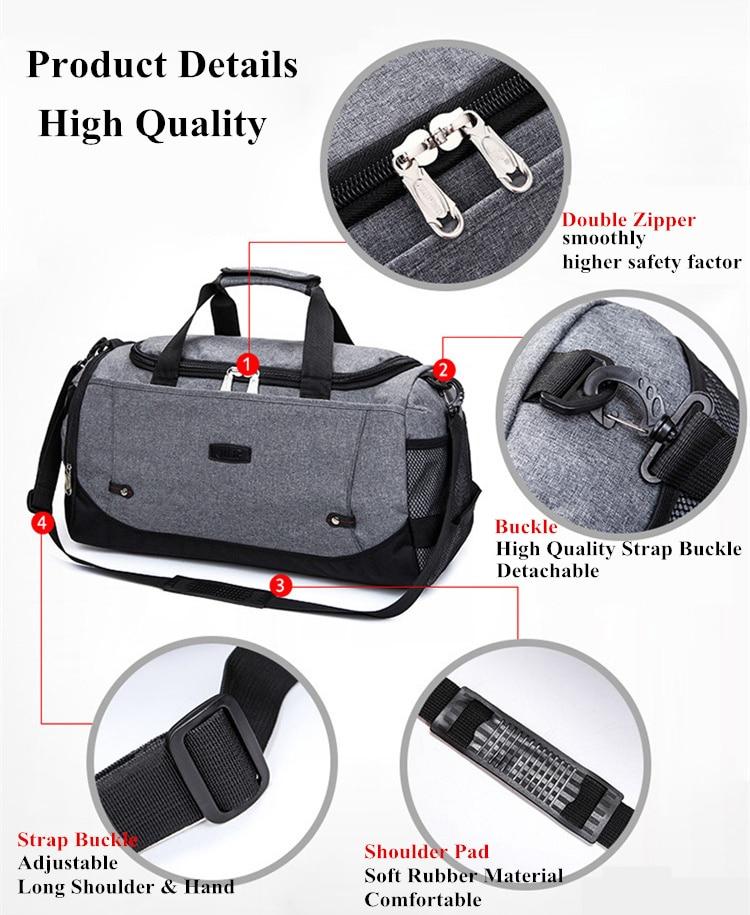 Travel Luggage Duffle Bag Lightweight Portable Handbag Cool Tiger Wallpaper 013 Large Capacity Waterproof Foldable Storage Tote