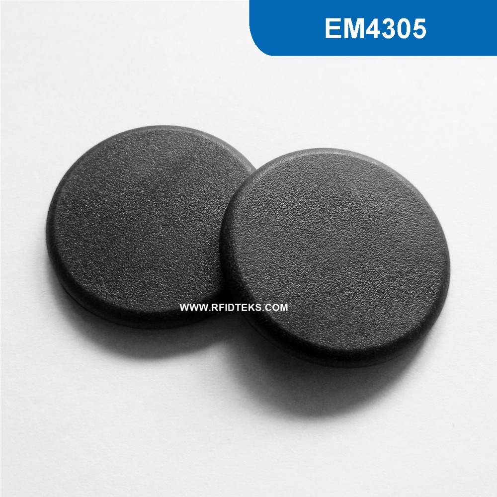 G24 Dia 24mm  RFID Industry Tag high temperature Token for Commercial laundry read-write (EMID, FDX-B ISO11784/85Chip iso11784 5 fdx b em4305 long range 134 2khz rfid animal ear tag for cow sheep management