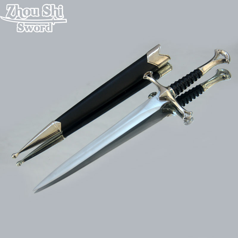 Fashion Short Small Sword Beautiful Gift Sword Retro Ornaments Little Sword European Style Stainless Steel blades