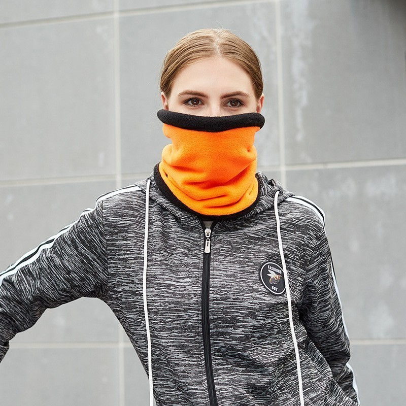 New Winter Face Mask Neck Warmer Mens Womens Ski Mask Warm Scarf for Outdoor