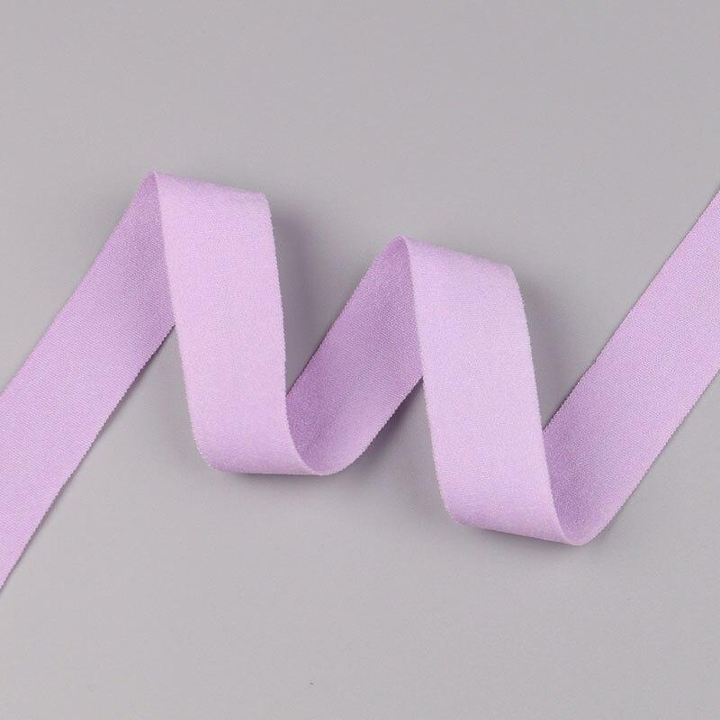 5 ярдов/Лот 20 мм ширина 34 цвета эластичная лента использование для diy аксессуары и одежда галстук лента для волос - Цвет: 19