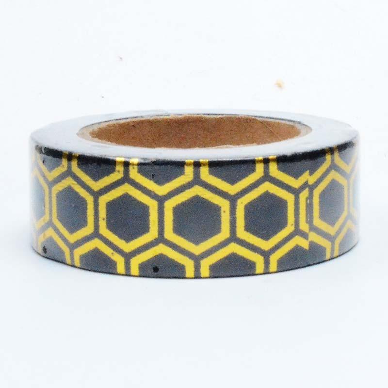 Dekoratīvā Washi Tape Scrapbooking Tool Planner piederumi Honeycomb - Māksla, amatniecība un šūšana