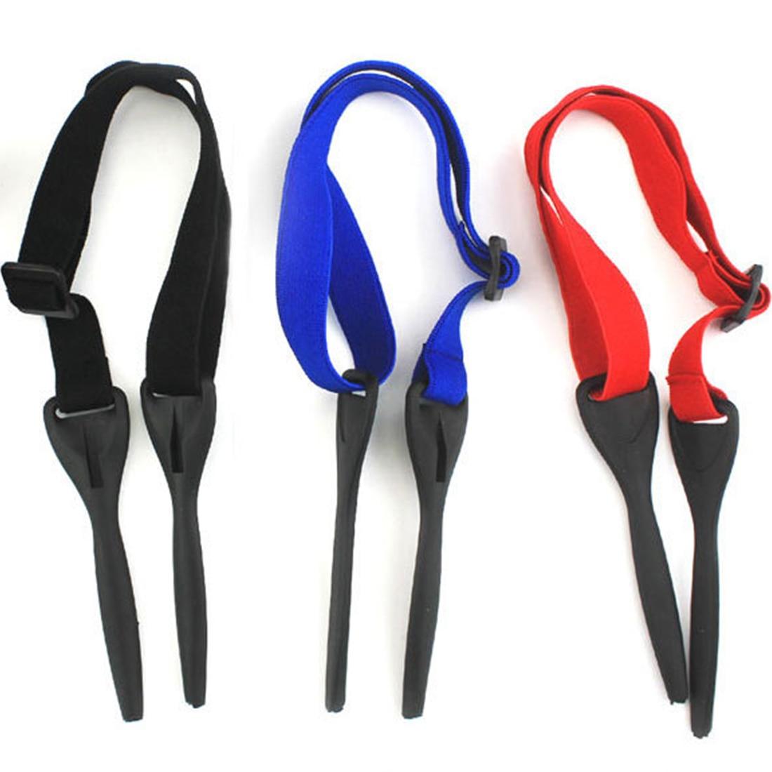 Nylon glasses rope Adjustable Black Eyewear Retainer Fit Rope Eyeglass Retainer Sport Unisex Sunglass Retainer Holder Strap in Eyewear Accessories from Apparel Accessories