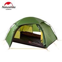 NatureHike Cloud peak 2 hexagonal ultralight tent 2 person outdoor camping hiking 4 Season Double Layer Windproof Tent
