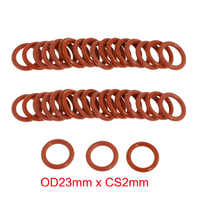 OD23mm x CS2mm silicone rubber sealing o ring o-ring