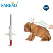 1.4x 8mm/2.12x12mm FDX B ISO11784/5 RFID implant chip şırınga hayvan mikroçip evcil hayvanlar için köpek kedi balık çiftlik at veteriner kliniği