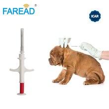 1.4x8mm/2.12x12mm FDX B ISO11784/5 RFID implant chip syringe Animal microchip for pets dog cat fish farm horse veterinary clinic