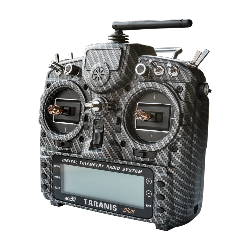 Alta Qualidade Transmissor FrSky Taranis X9D Mais SE 2.4G 16CH EDIÇÃO ESPECIAL w/Sensor de M9 Caso de Transferência de Água Para RC modelo