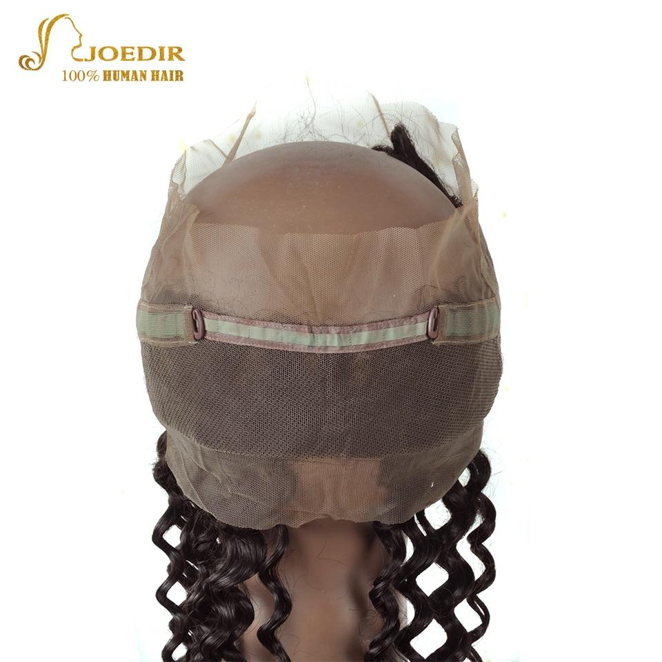 JOEDIR Hair Deep Wave 3st Human Hair Bundles With Closure 360 - Barbershop - Foto 3