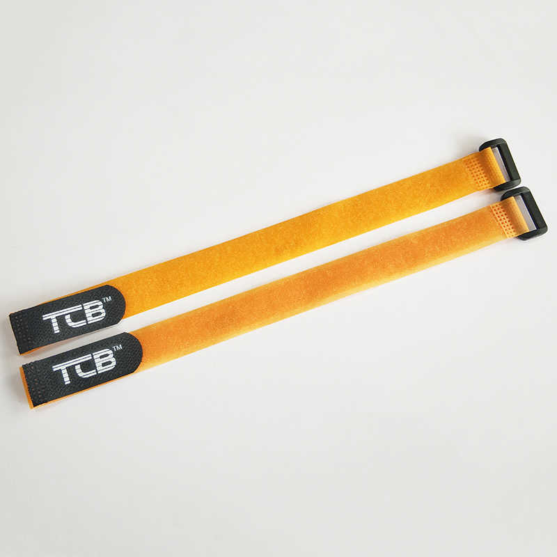 TCB POWER 2Pcs 350mm Lipo Battery Nylon Strap Magic sticker RC model anti-buckle tape High quality Antiskid Tie belt straps