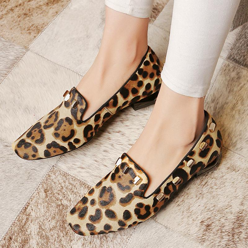 2017 New fashion big size brand shoes apricot rivetl thick heel fur women pumps round toe horse hair office lady causal shoes 2017 new fashion brand spring shoes large size crystal pointed toe kid suede thick heel women pumps party sweet office lady shoe