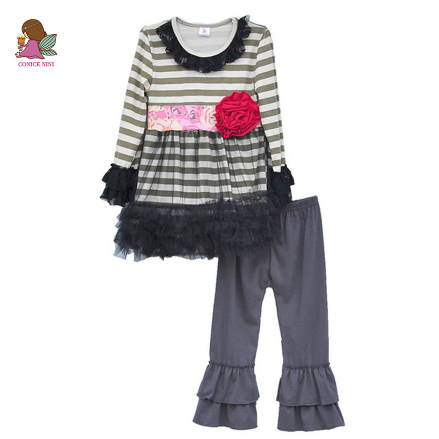 Persnickety Remake Spring Girls Clothes Striped Tunic ...