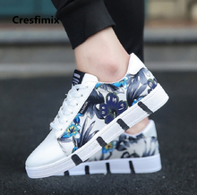Cresfimix chaussures masculines male fashion 2018 high quality street comfortable shoes men cool comfortable lace up shoes a590