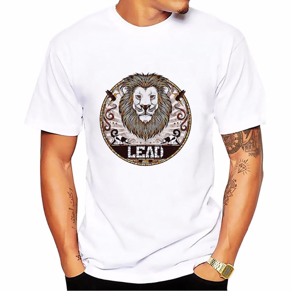 Dieren Totems kat Koala oehoe t-shirt Mannen Tops wit casual t-shirt - Herenkleding