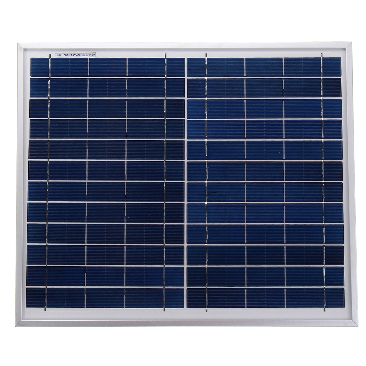 2V 12W Durdable Waterproof Solar Panel Charger For Emergency Light Camping