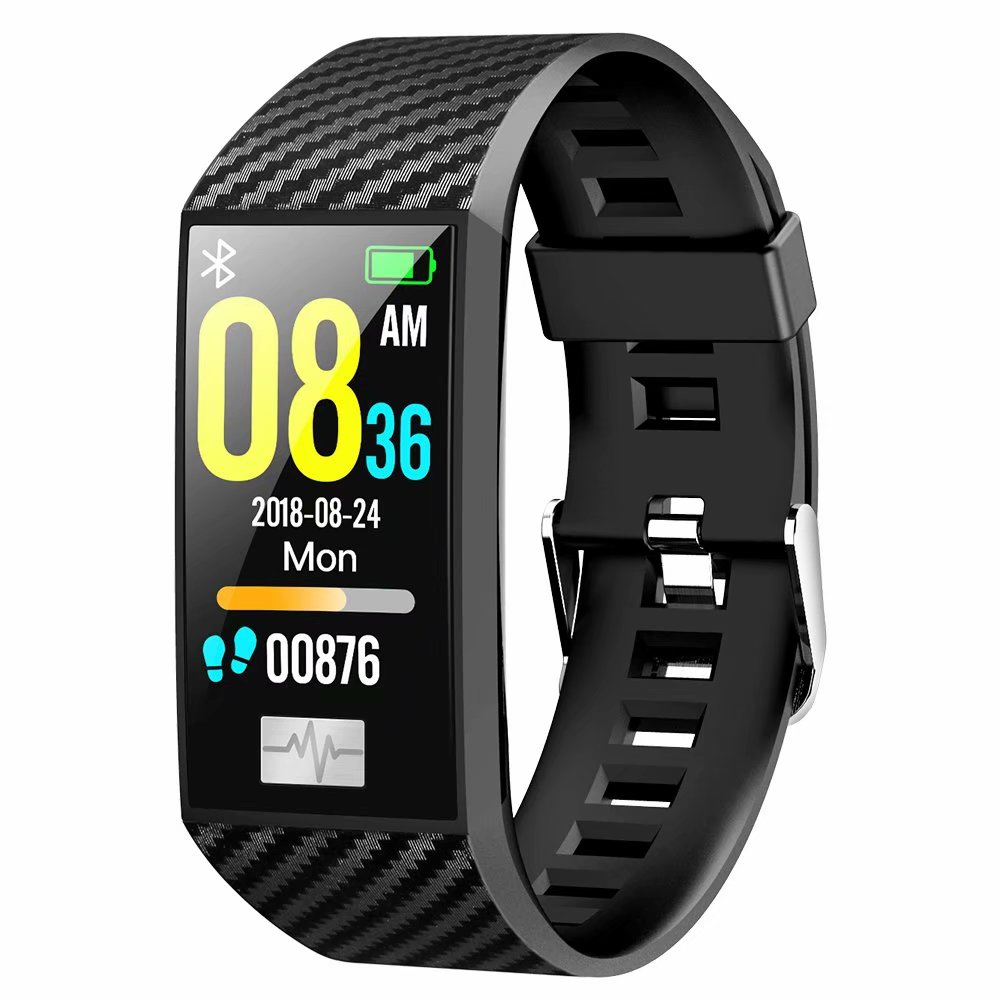IPS Large Screen DT58 Smart Bracelet IP68 Waterproof ECG Heart Rate Monitor Smart Watch Band Activity Tracker Sports Wirstband in Smart Wristbands from Consumer Electronics