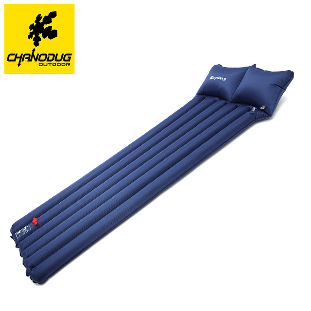 Brand Single Foot Air Pump Water Inflatable Bed Dual Use Belt Pillow Mattress