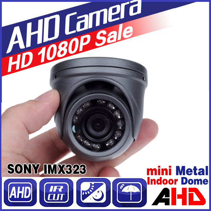 Ahd 720p 960p 1080P read Mini Indoor Metal Dome Hd Cctv Security Camera IR-cut 12LED Infrared Night Vision home vidicon hd ahd security cctv camera 720p indoor dome ir cut 30leds night vision ir color 4mm 3mp cs lens